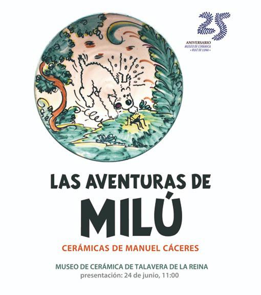 cartel-las-aventuras-de-milu-de-manuel-caceres-museo-ruiz-de-luna-revista-love-talavera