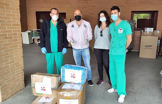 La Asociación de Visitadores Médicos de Toledo (ITS Toledo) también ha querido aportar su necesaria colaboración para frenar la epidemia