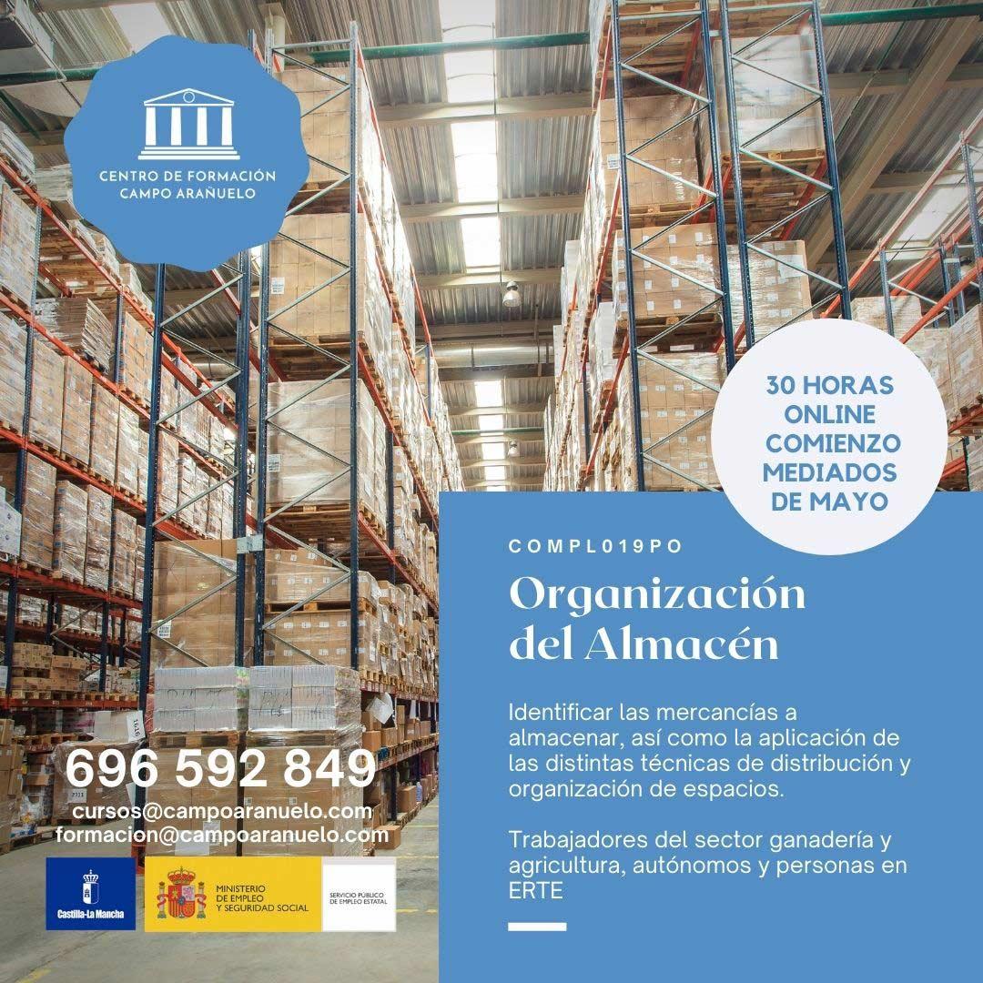 organizacion-almacen-curso-campo-aranuelo